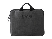 Kenneth Cole Reaction Slim Single Gusset Top Zip Tablet Case. Gray Bags