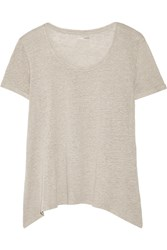 Majestic Linen Top Green