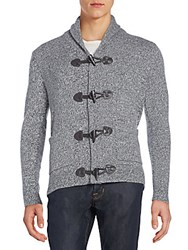 Saks Fifth Avenue Toggle Front Cashmere Cardigan Grey