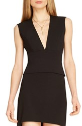Women's Halston Heritage Deep V Neck Sleeveless Top