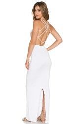 Indah Tamaa Seamless Maxi Dress White