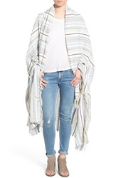 Rag And Bone Women's Rag And Bone 'Plains' Stripe Blanket Wrap