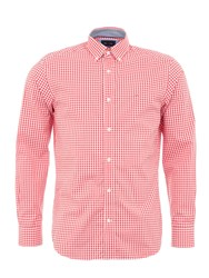 Eden Park Vichy Shirt Red