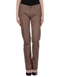 La Fee Maraboutee Casual Pants Brown