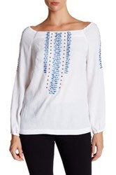 Nanette Lepore Sunrise Blouse White