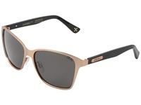 Zeal Optics Laurel Cyn Polarized Rose Gold Dark Grey Polarized Lens Sport Sunglasses Black