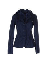 Add Suits And Jackets Blazers Women Dark Blue
