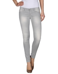 Take Two Denim Pants Grey