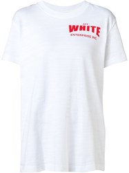 Off White Printed T Shirt