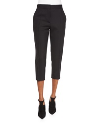 Iro Amaele Cropped Wool Pants Black