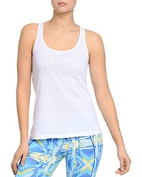 2Xist 2 X Ist Criss Cross Burnout Tank 100 Bloomingdale's Exclusive White