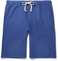 Polo Ralph Lauren Fleece Back Cotton Jersey Shorts Blue