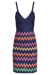 Missoni Lurex Zz Strappy Short Dress