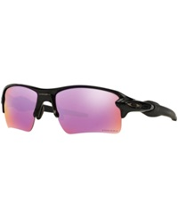 Oakley Sunglasses Oakley Oo9188 59 Flak 2.0 Xl Black Shiny Purple Light