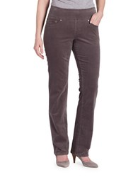Jag Peri Straight Corduroy Pants Smokey Grey