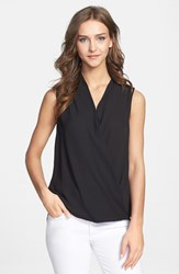 Women's Pleione Sleeveless Faux Wrap Blouse