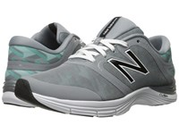 New Balance Wx711v2 Aquarius Graphic Women's Cross Training Shoes Gray