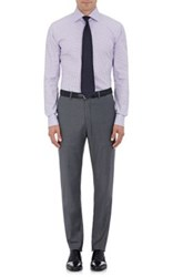 Emanuel Berg Men's Gingham Cotton Shirt Light Purple