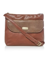 Ollie And Nic Lenny Tan Crossbody Bag Tan