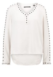 Scotch And Soda Blouse Off White Off White