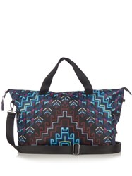 Mara Hoffman Rug Print Bag Blue Multi