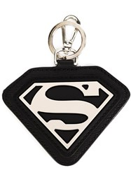 Philipp Plein 'Superman' Keyring Black