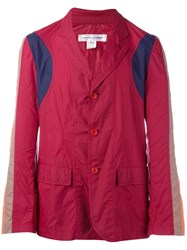 Comme Des Garcons Vintage Light Weight Waterproof Jacket Red