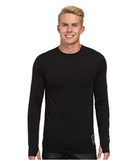 Burton Lightweight Crew True Black Men's Long Sleeve Pullover