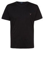 Gant Solid Regular Fit Basic Tshirt Black