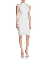 French Connection Tania Tuck Dress Summer White