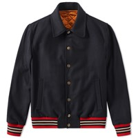 Dries Van Noten Vinson Reversible Jacket Blue