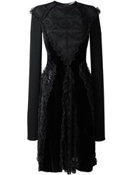 Givenchy Baroque Pattern Velour Dress