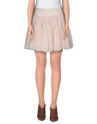 Viktor And Rolf Skirts Mini Skirts Women Light Pink
