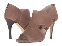 Adrienne Vittadini Gerlinda Canapa Kid Suede Women's Shoes Tan