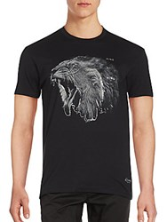 Kinetix Short Sleeve Graphic Tee Black