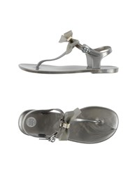 Gioseppo Footwear Thong Sandals Women Grey