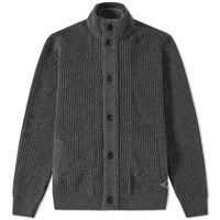 Barbour Helm Button Through Cardigan Grey