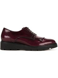 P.A.R.O.S.H. Lace Up Shoes Red