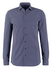 Eterna Slim Fit Shirt Dunkelblau Dark Blue