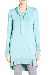 Midnight By Carole Hochman Women's Cowl Pullover Sea Green