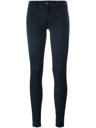 7 For All Mankind Skinny Trousers Blue