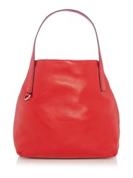 Coccinelle Mila Red Hobo Bag Red