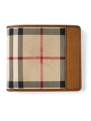 Burberry Horseferry Check Billfold Wallet Brown