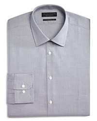 Bloomingdale's The Men's Store At Twist Regular Fit Dress Shirt 100 Exclusive Grey