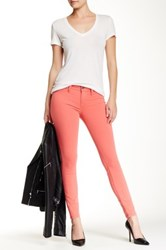 Fidelity Mila Mid Rise Ankle Slim Pant Orange