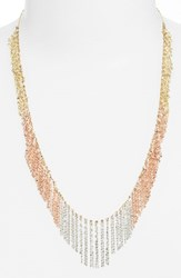 Women's Lana Jewelry 'Nude' Tri Color Fringe Necklace Nordstrom Exclusive