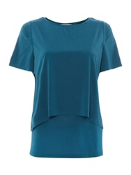 Mary Portas Oni Open Back Top Teal