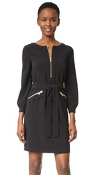 Boutique Moschino Long Sleeve Dress Black
