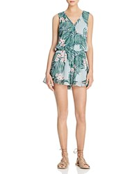 Show Me Your Mumu Riri Tropical Print Romper Hanalei Dream