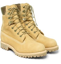 Timberland Leather Boots Beige